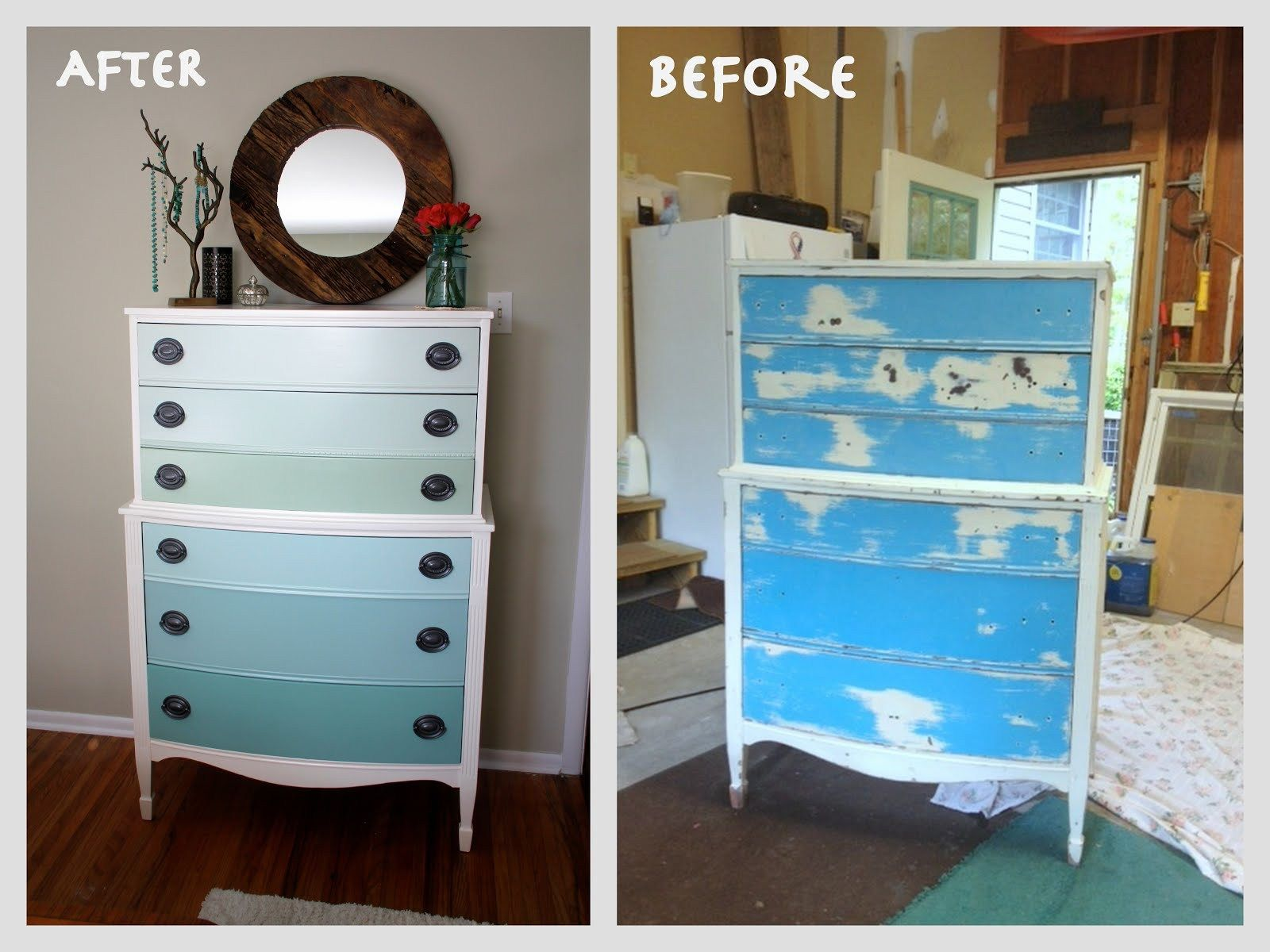 How To Paint Old Wood Furniture Pertaining To Repaint Old Furniture How To  Paint And Decorate Photo
