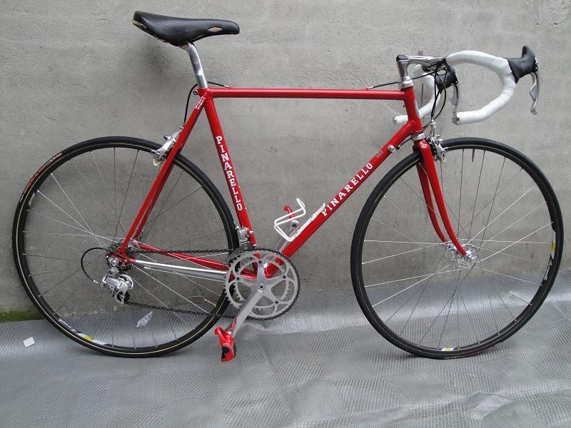 De Pinarello van Piet - Italiaanse Racefietsen