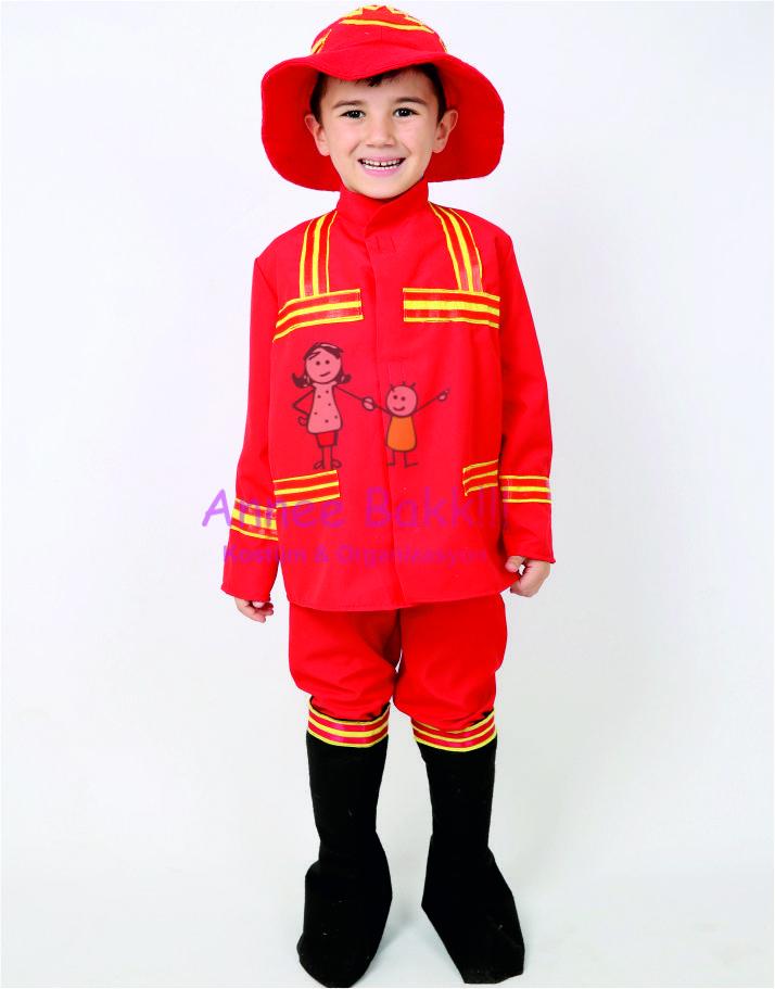 Itfaiyeci Kostumu Cocuk Itfaiyeciler Kostum Kizlar