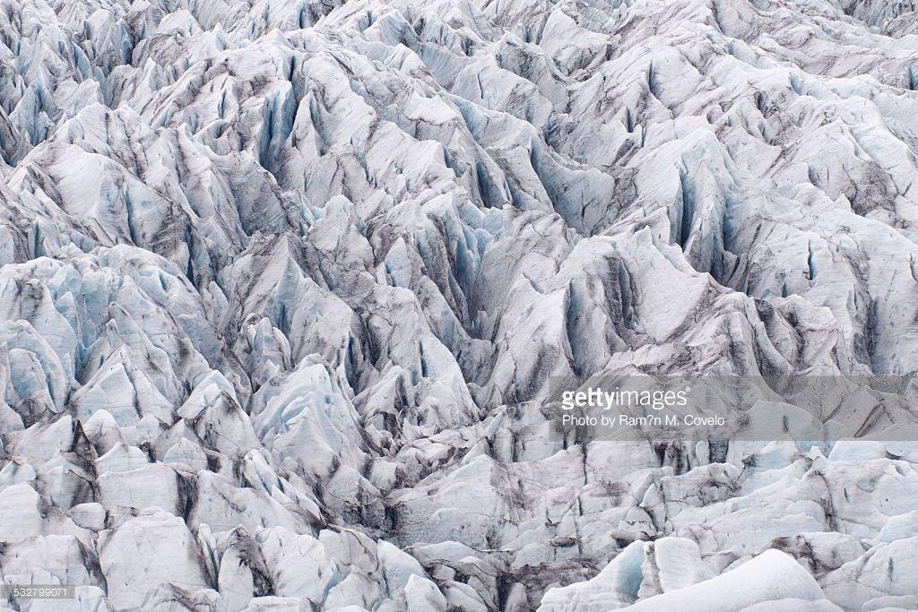 Stock-Foto : Glacier Abstract