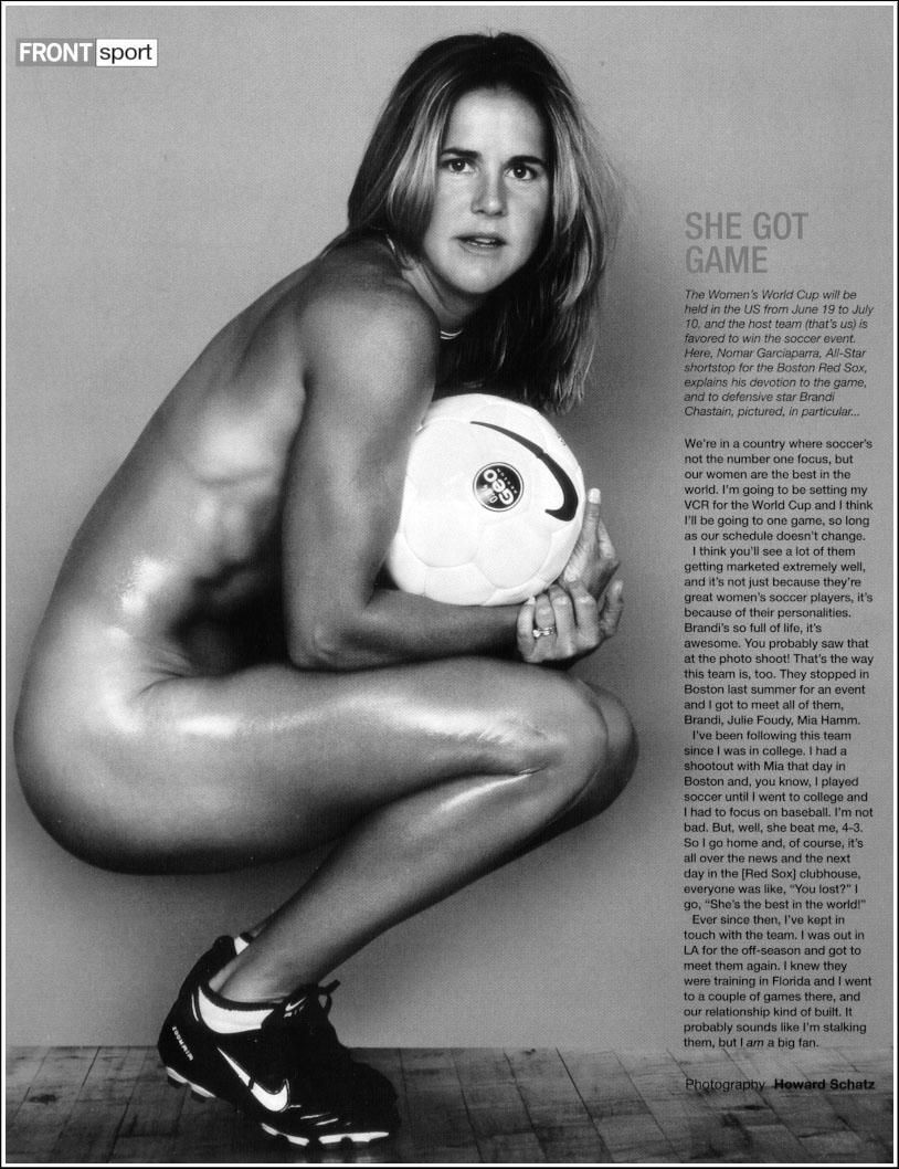 Really. Brandi chastain soccer ball think, you