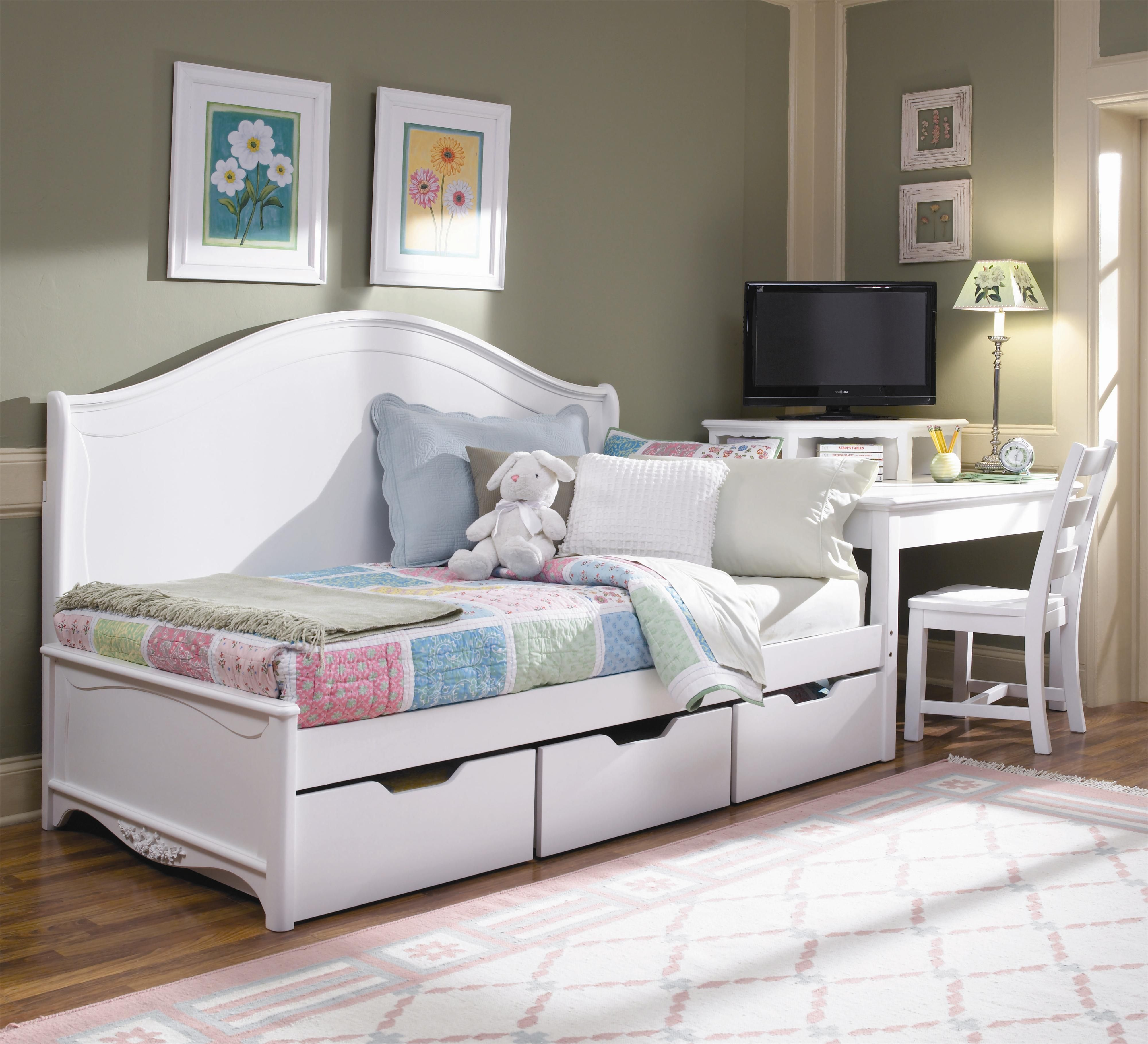 with wooden and white wood floor rug storage drawers bedroom metal underneath daybeds cheap daybed area pics marvellous