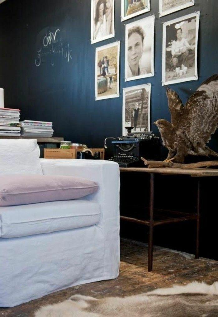 Interessantes Modell Schlafzimmer Petrol Wandfarbe Weiße Möbel
