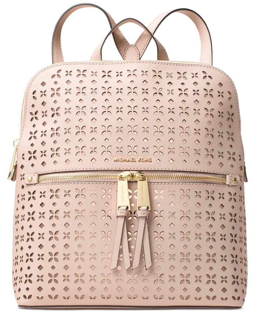 dc378cc99c Michael Michael Kors Rhea Zip Medium Slim Backpack