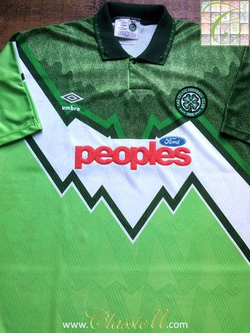 best cheap a9903 bdd88 Relive Celtic's 1991/1992 season with this vintage Umbro ...
