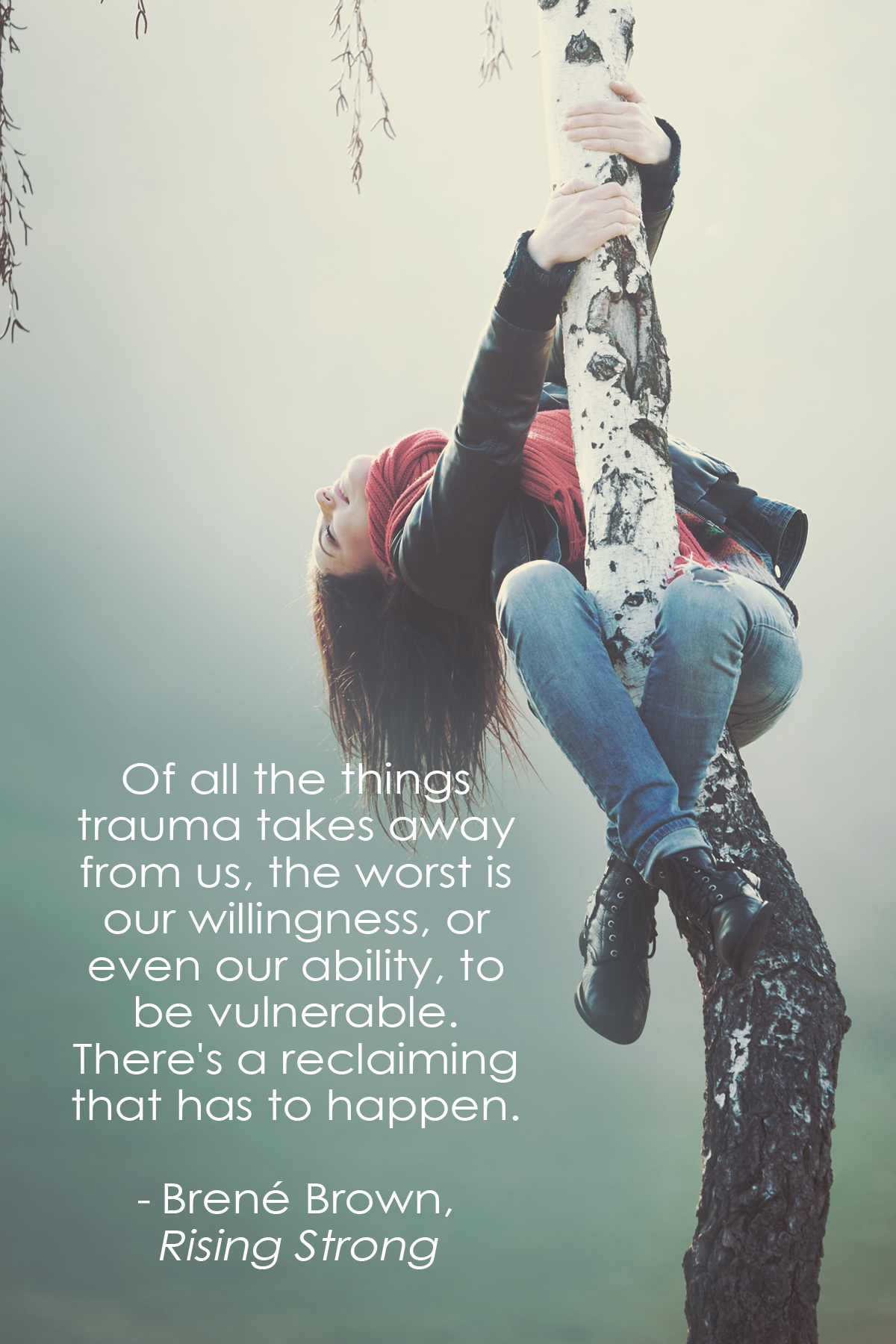 Of all the things trauma takes away from us, the worst is our ...