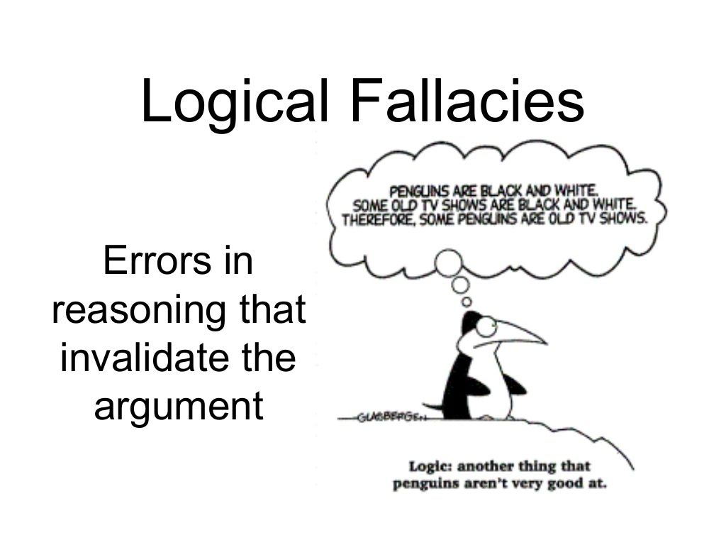 Logical Fallacies Errors In Reasoning That Invalidate The