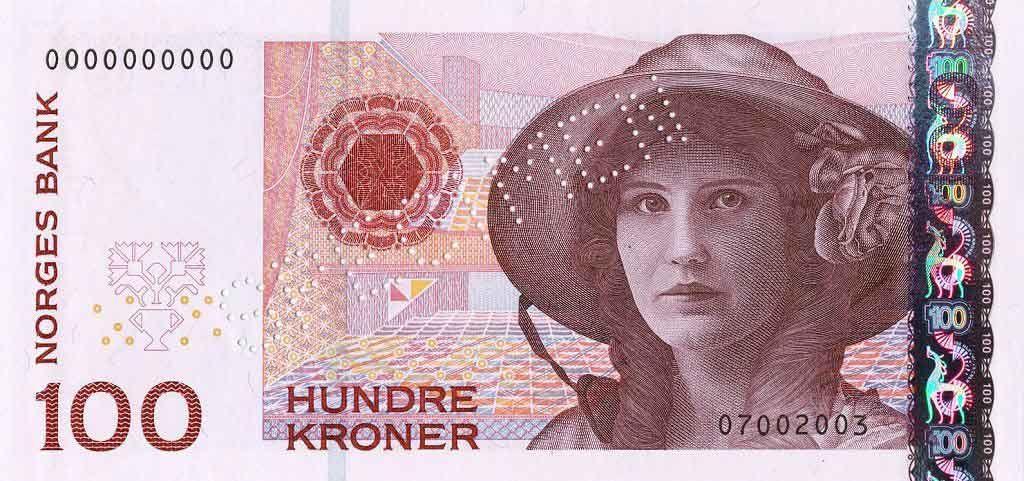 Norway Currency Norwegian Krone Nok Country