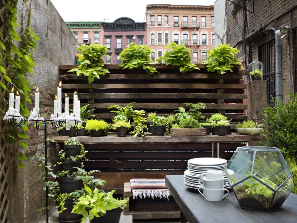 30 Small Garden Ideas U0026 Designs For Small Spaces. Small Apartment PatiosSmall  ...