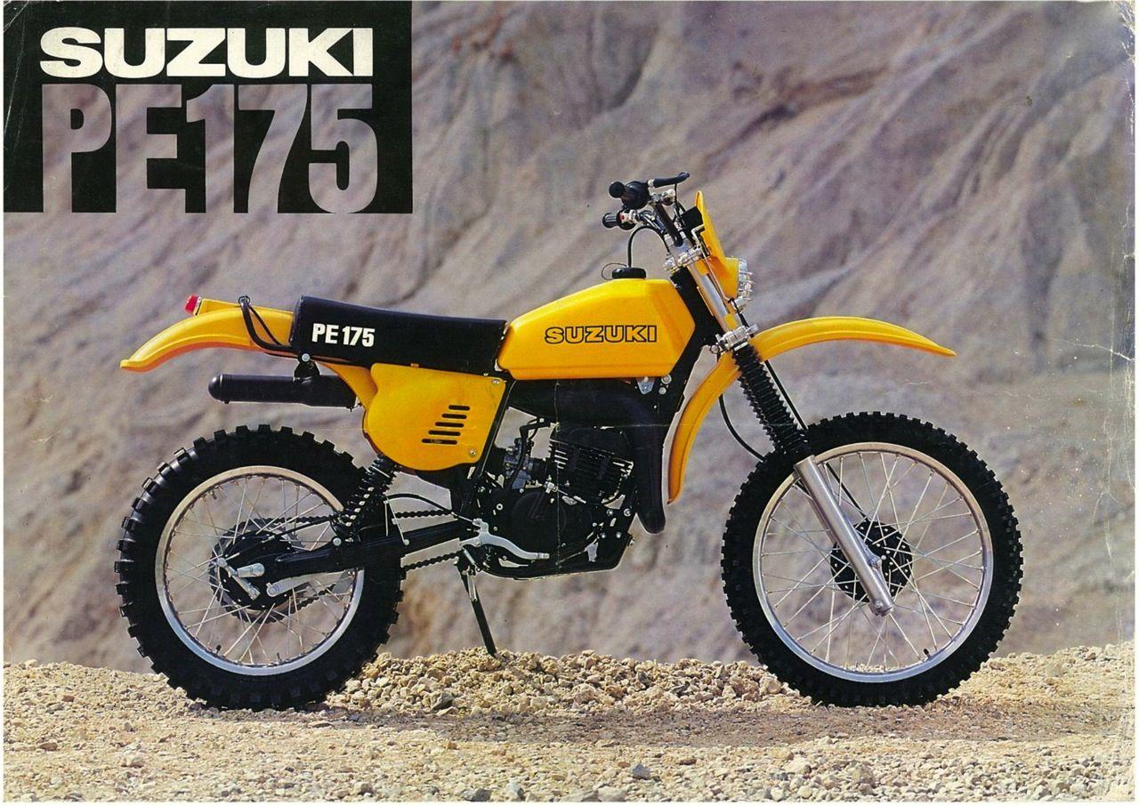 vintage brochures suzuki pe175 1978 usa the golden age of the rh pinterest co uk 84 Suzuki PE 175 1980 Suzuki Pe 175