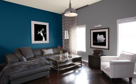 Salon id es peinture couleurs sico d co pinterest - Idee de peinture pour salon et salle a manger ...