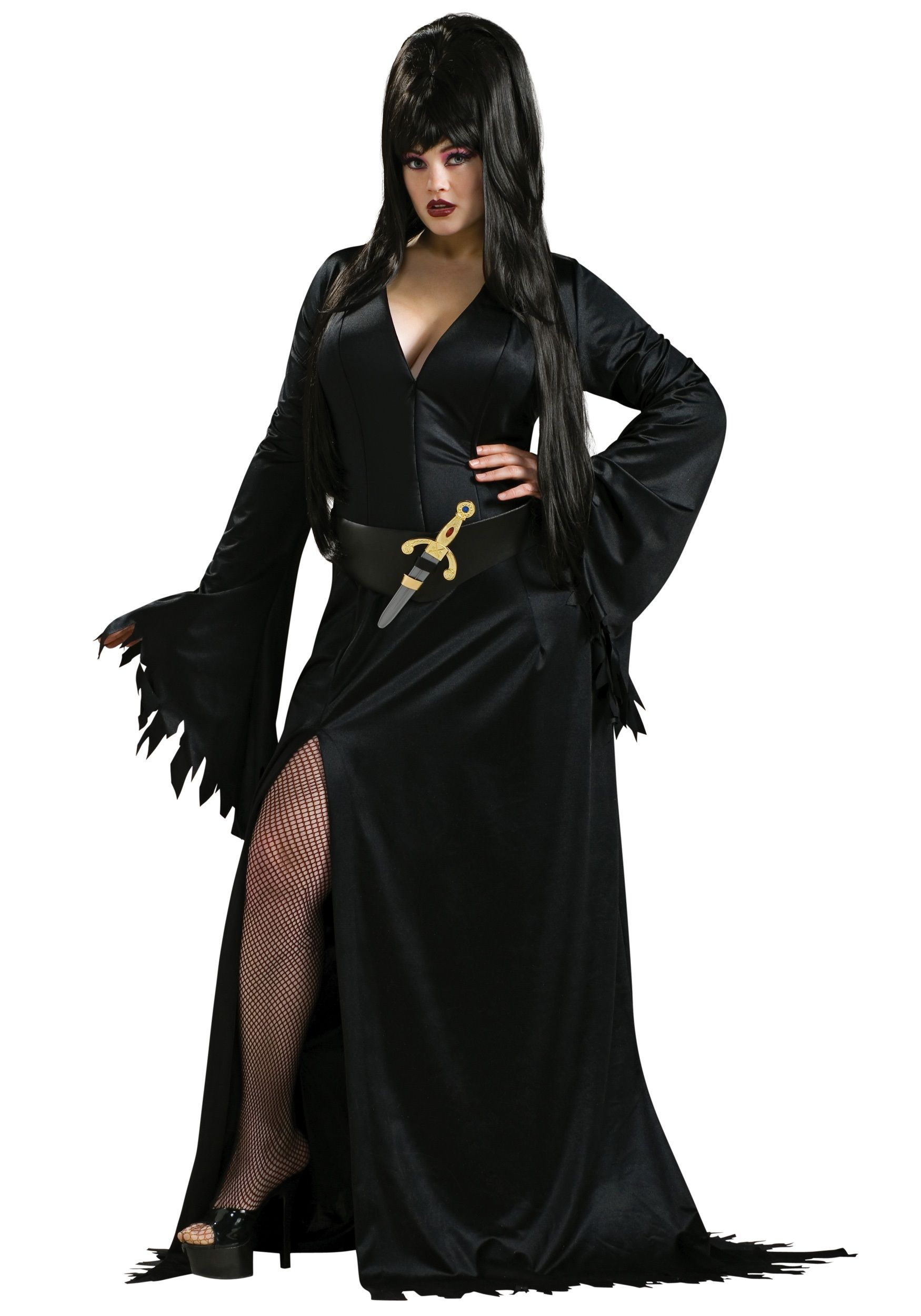 Plus Size Elvira Costume | Elvira costume, Costumes and Halloween ...
