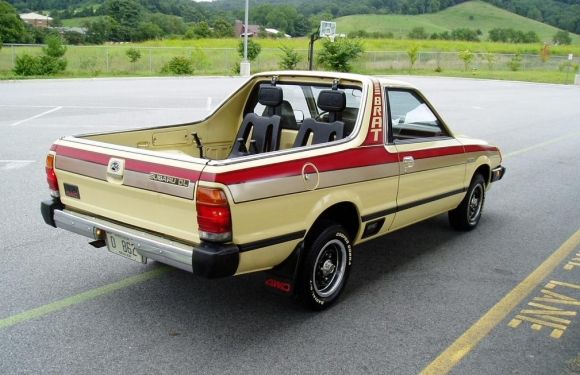 1982 Subaru Brat Truck Wanted One May Still Get Love The Seats In Back Of Bed
