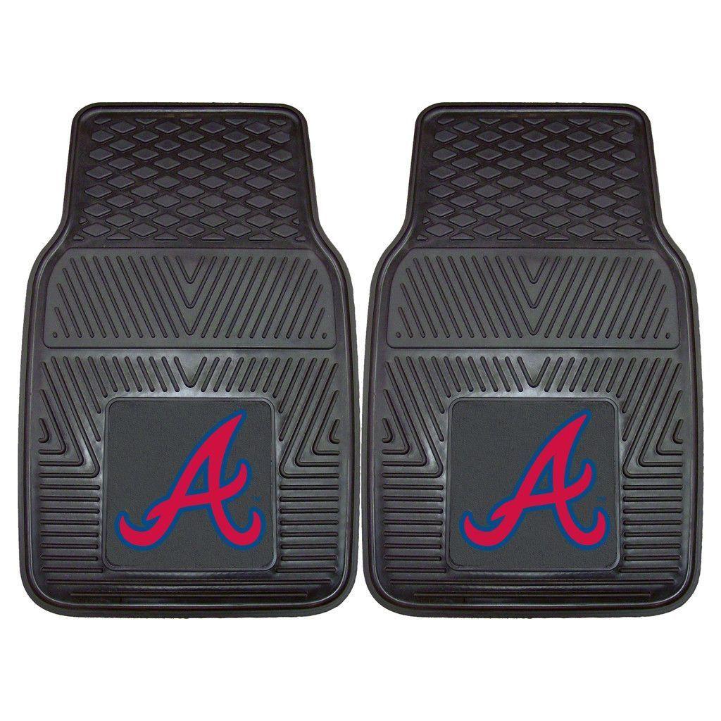 Heavy Duty Vinyl Atlanta Braves Floor Mats Car mats, Car