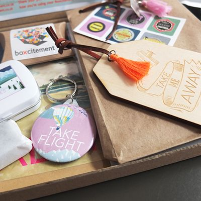Boxcitement Subscription Box Uk Bo Monthly Mystery Stationery Gifts And Jewellery Free Delivery Planner Planning