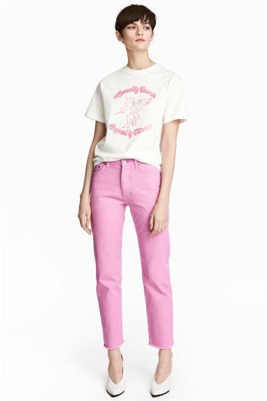 Straight Regular Jeans - Rosa - DONNA   H&M IT 1