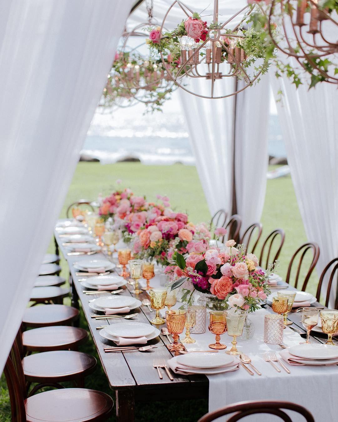 Pantone Color Of The Year Beach Garden Wedding Beach Wedding