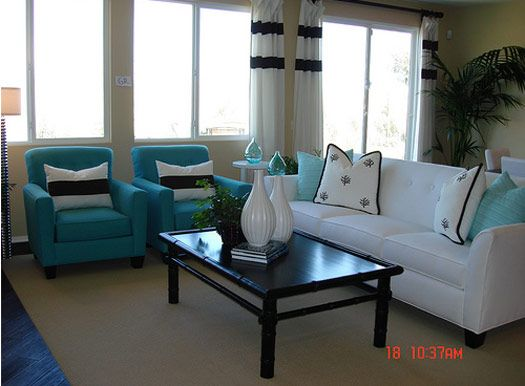 Nice Turquoise Living Room Decor Ideas