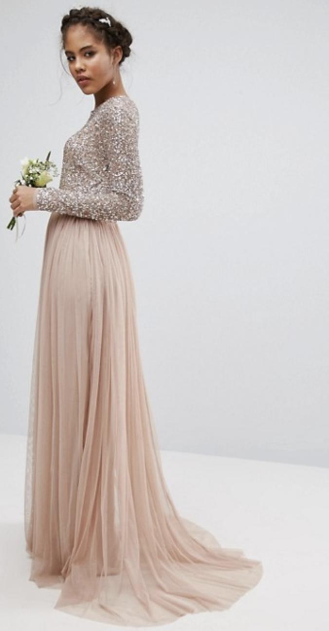 Sequin And Tulle Skirt Maxi Dress Asos High Street Bridesmaid Dresses 2018 Bride High Street Wedding Dresses Bridesmaid Dresses 2018 Affordable Prom Dresses