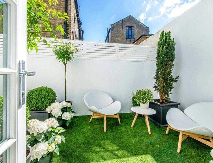 Design Interior Rumah Minimalis Type 38  desain eksterior rumah minimalis anda dengan taman di depan