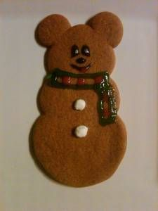 Gingerbread Cookies Recipe served at Gingerbread House at Grand Floridian Resort…