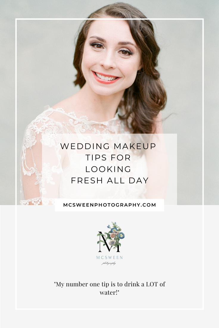 Wedding Makeup Tips For Looking Fresh All Day
