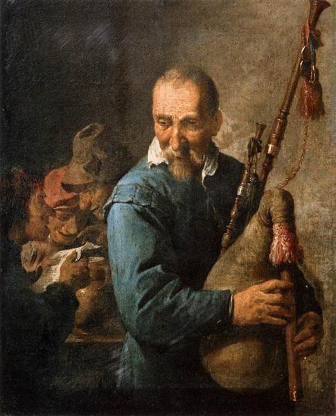 Gaitero, 1637 - David Teniers el Joven