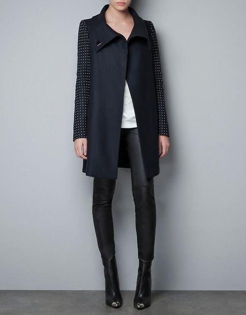 A Zara de Agosto | Idéias de moda, Casacos femininos e