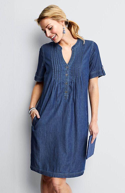 822de4b0dda dámské riflové šaty
