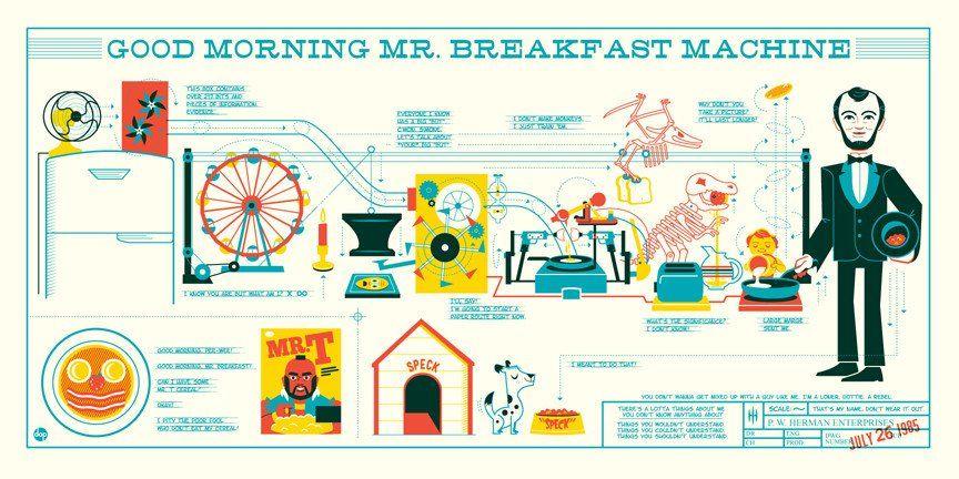 """Dave Perillo - """"Mr. Breakfast Machine"""""""