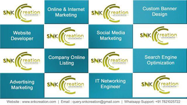 SNK Creation (just socially advertise) | Social Online Marketing: custom banner design rajasthan