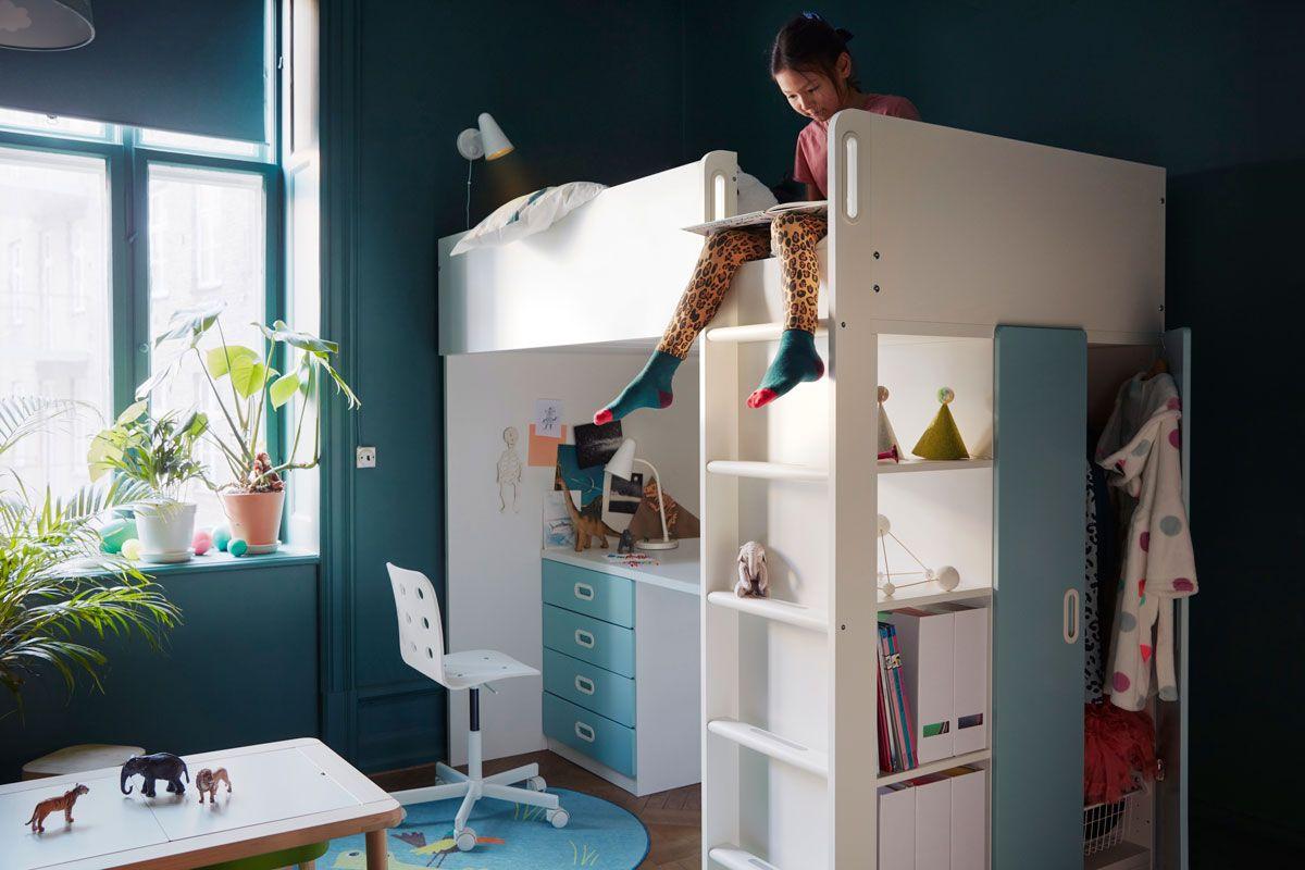 ideas habitaciones juveniles niñas 6 primaria ikea