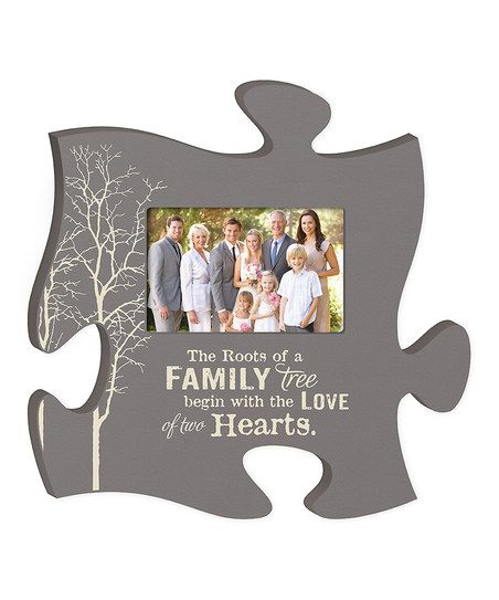 Family Tree\' Puzzle Piece Photo Frame | Подарък | Pinterest | Puzzle ...