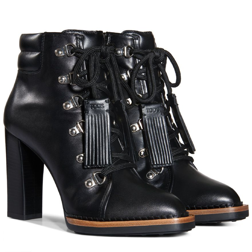Tod's high ankle lace up boots marketable cheap price for nice online Sc1aIVOYoF