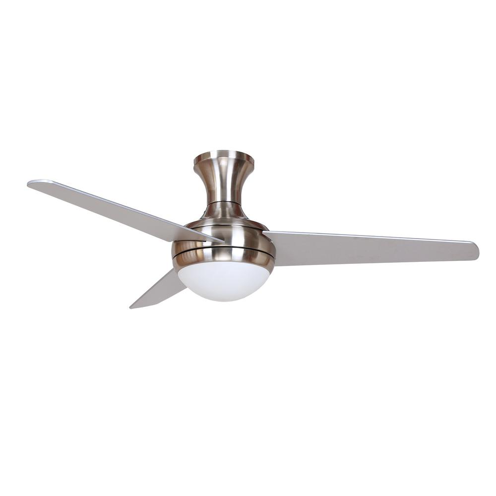Aislee 48 In Brushed Nickel Ceiling Fan Aislee Bn Brushed