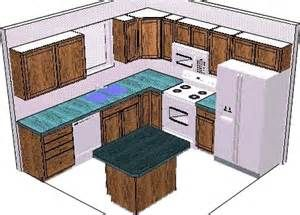 Nice Superb Sample Kitchen Designs #8   Kitchen Design 10 X 10 Layout With  Island .