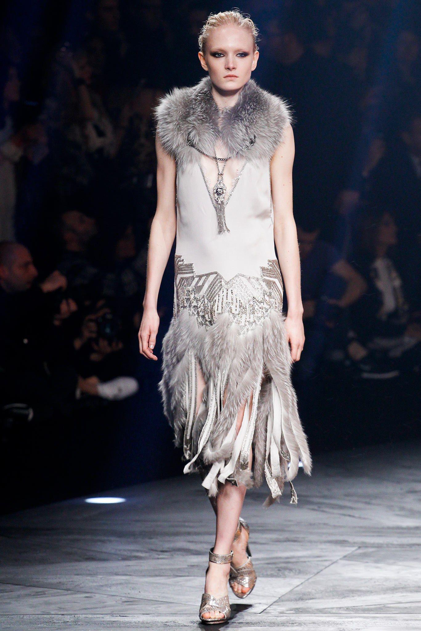 Roberto Cavalli Fall 2014 Ready-to-Wear Fashion Show - Maja Salamon