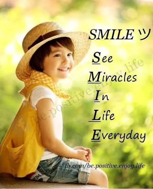 See Miracles In Every Day Life Smilebe Happy Quotes Happy
