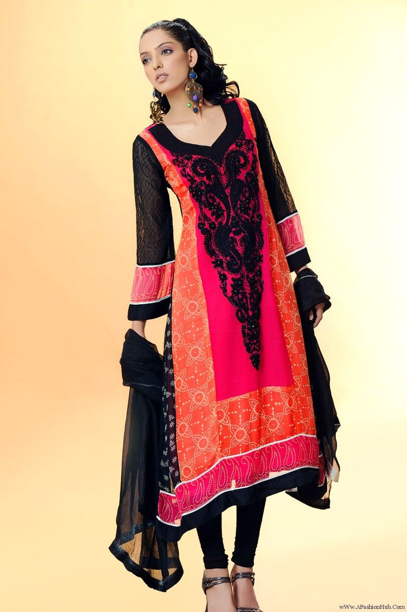 pakistani dresses newest latest fashion trend 2013