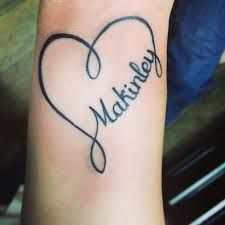 Image Result For Love Name Tattoos For Arm With Images Heart