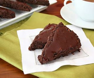 Chocolate Ginger Scones (Low Carb and Gluten Free)