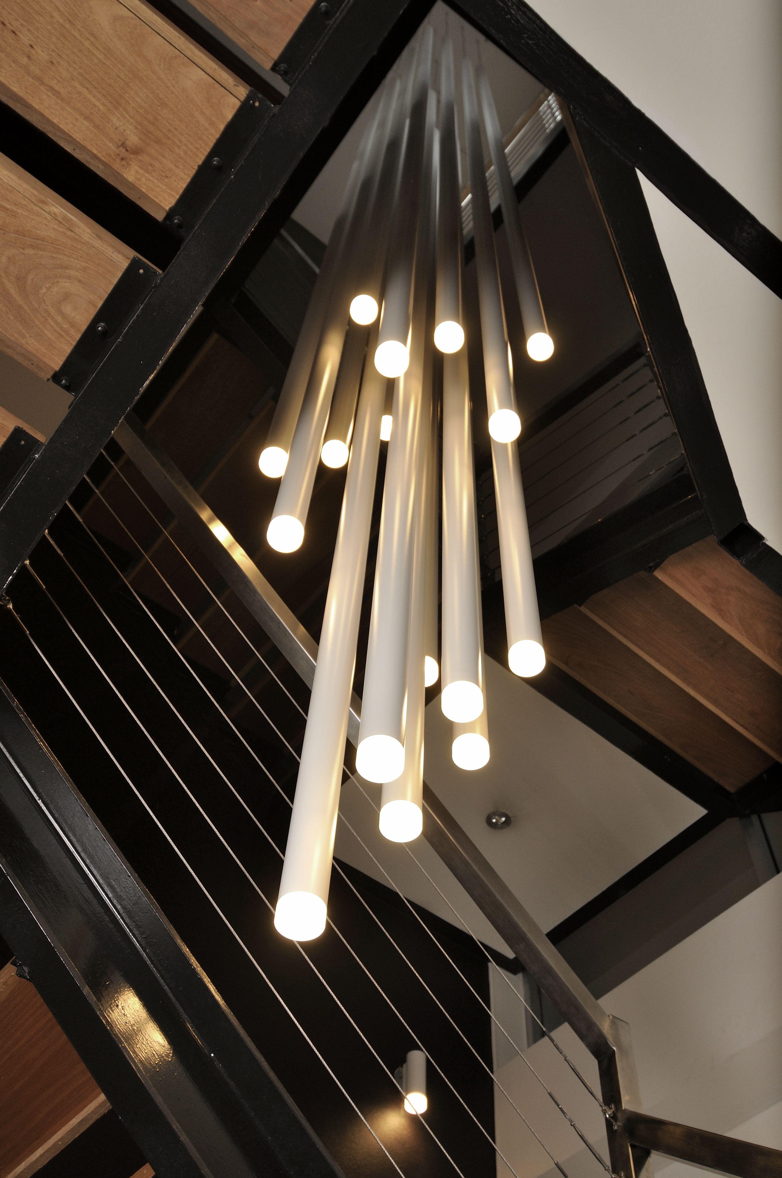 Bathroom Lighting Fixtures Melbourne custom scope chandelier | project: faith agency, melbourne