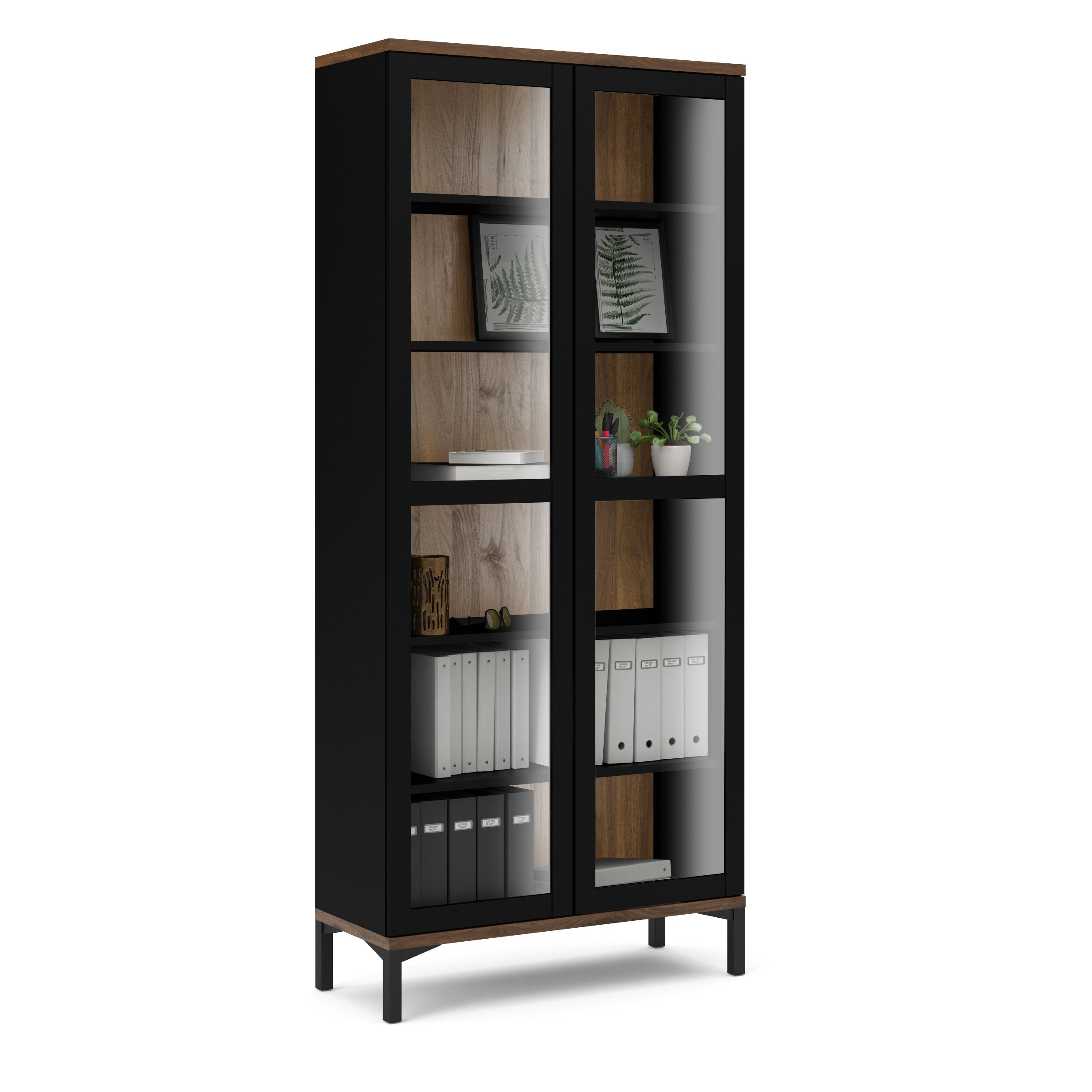 Home Tvilum Wall Mounted Display Cabinets Modern China Cabinet