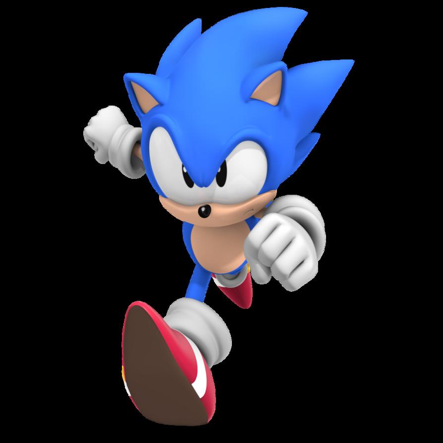 Classic Sonic Cg Style Festas De Aniversario Do Sonic Aniversario Do Sonic Festa Sonic