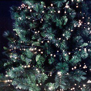 Guirlande lumineuse 126 DEL 150 cm blanc chaud pour l\'intérieur et l ...