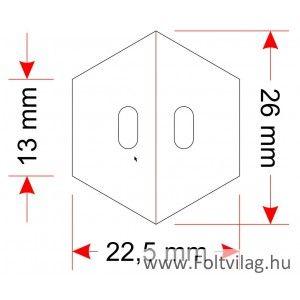 Hexa template 13mm 40 pieces