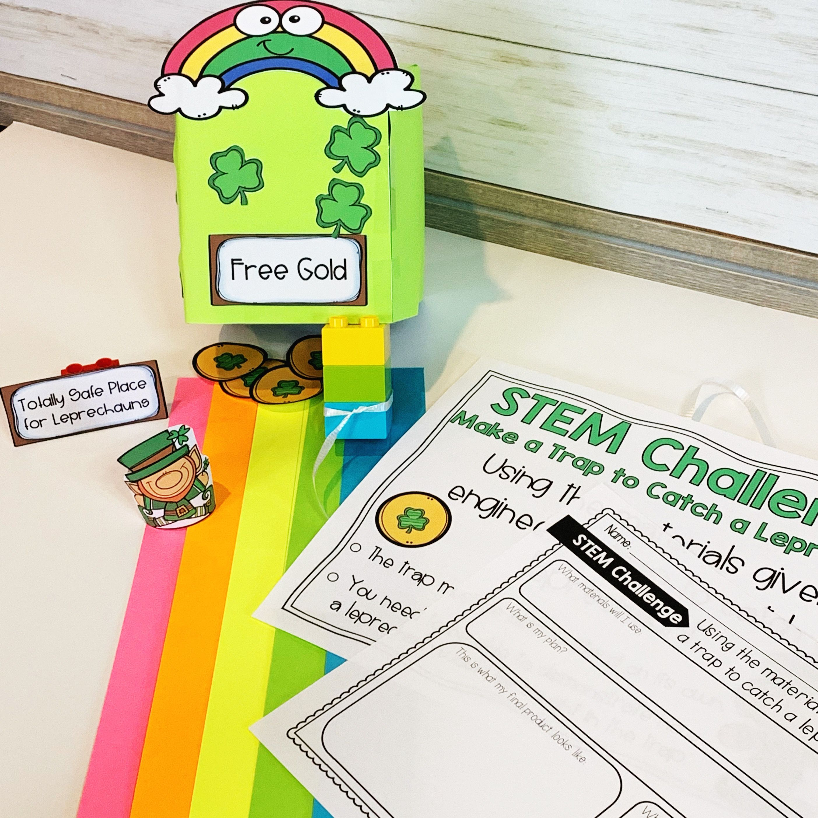 How To Catch A Leprechaun Stem Amp Literacy