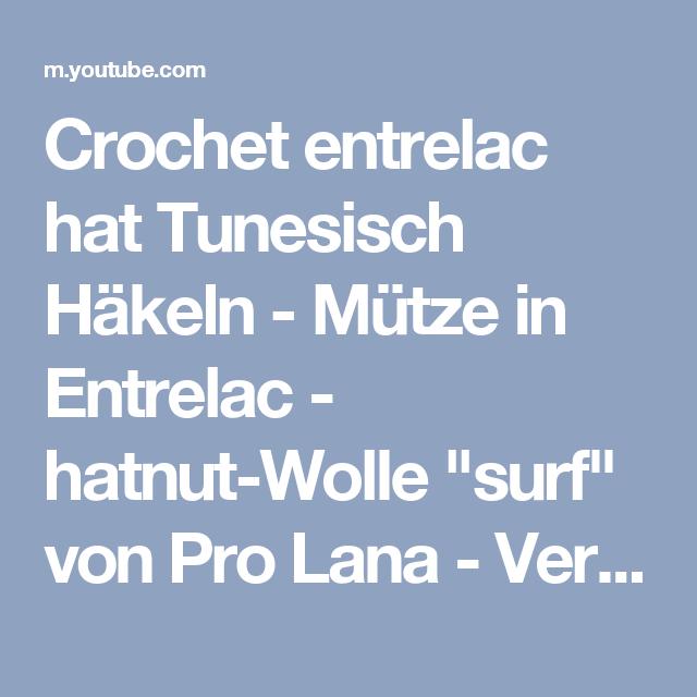 Crochet Entrelac Hat Tunesisch Häkeln Mütze In Entrelac Hatnut