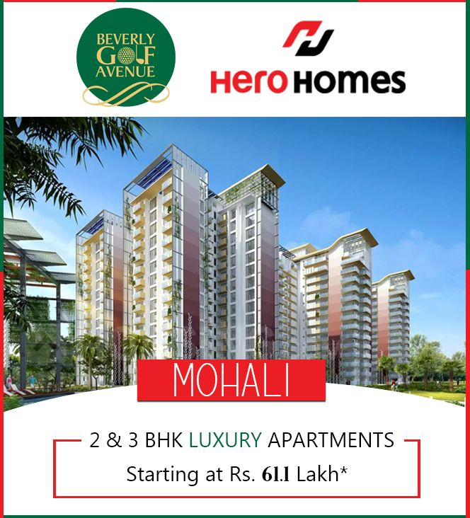 Luxury 3bhk Apartment In Mohali At An Affordable Price