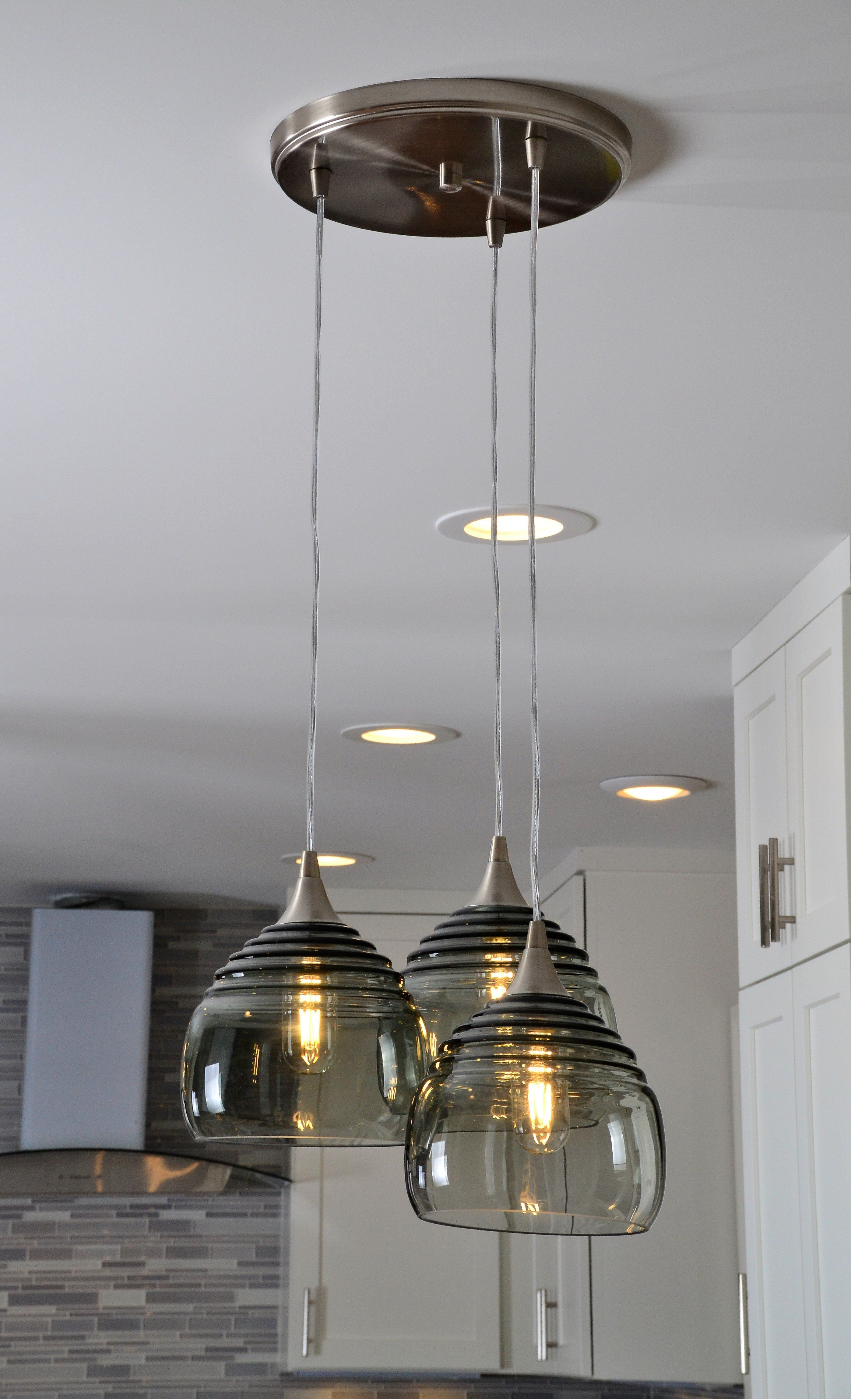 302 Lucent 3 Pendant Cascade Chandelier Pendant Light Fixtures Ceiling Pendant Lights Pendant Lighting